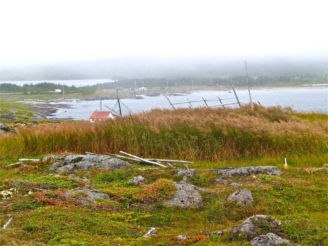 Un peu de la beauté troublante de la communauté de Tilting, Fogo Island. Photo : Jacinthe Tremblay