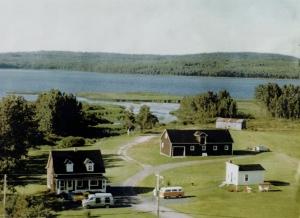Ma maison paternelle, Sayabec, Vallée de la Matapédia au Québec.